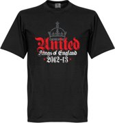 Manchester United Kings Of Engeland T-Shirt 2012-2013 - M