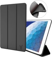 iPad Air 10.5 (2019) Hoes - Smart Book Case Siliconen Hoesje - iCall - Zwart
