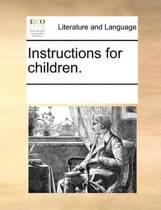 Instructions for Children