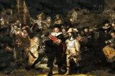 CANVASDOEK NACHTWACHT | POLYGON | Rembrandt van Rijn | Wanddecoratie | 60 CM x 40 CM | Schilderij | Foto op canvas | Aan de muur | Kunst