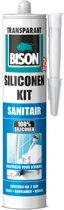Bison Siliconenkit Sanitair Koker - Transparant - 310 ml