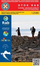 Wandelkaart Otok Rab (eiland) Kroatie (17)