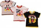 Disney Mickey Mouse t-shirt Zwart - Maat 116 - 1 Stuks