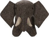 Kidsdepot knuffel elephant Jungle brown