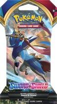 Afbeelding van Pokémon TCG Sword & Shield Sleeved Booster - Pokémon kaarten