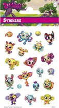 Stickers Zoobles 3 vellen
