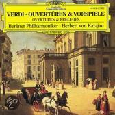 Verdi: Overtures & Preludes / Karajan, Berlin Philharmonic