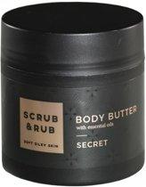 Scrub&rub body butter secret 200 ml