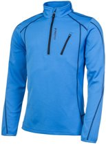 Protest Fleece Top Heren HUMANY Mid BlueS