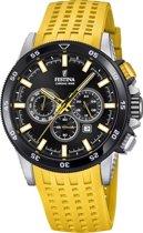 Festina Chronobike Yellow horloge  - Geel