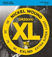 D'Addario EXL180 Extra-Super Light 35-95 snarenset voor basgitaar