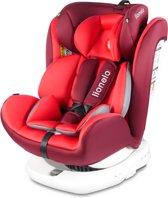 Lionelo Bastiaan - Autostoel - Isofix - roteerbaar - 0-36kg - Rood