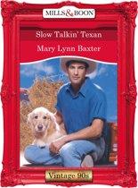Slow Talkin' Texan (Mills & Boon Vintage Desire)