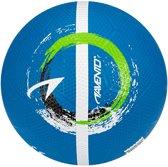 Avento Straatvoetbal - Blauw/Wit/Zwart/Fluorgroen - 5