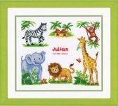 borduurpakket 70.357 jungle, geboorte