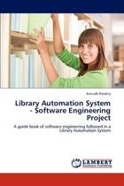Library Automation System - Software Engineering Project