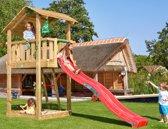 Houten Speeltoren - Jungle Shelter