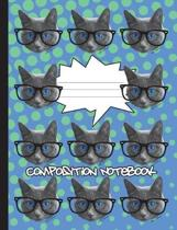 School Cat Composition Notebook