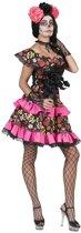 Spaans & Mexicaans Kostuum | Muerto Miranda | Vrouw | Maat 44-46 | Halloween | Verkleedkleding