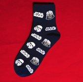 Fun Sokken Star Wars Darth Vader en Stormtrooper