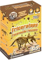 Science 4 You Triceratops Fossil Excavation - Experimenteerset