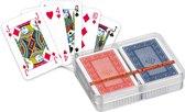 Ace Patience Rood en Blauw - Mini Dubbel Deck