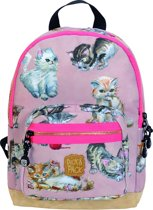 Pick & Pack Kittens - Rugzak - Dusty Pink