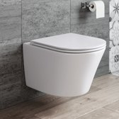 Hangend Rimless Toilet Dowa Calo + Softclose Quick Release Zitting