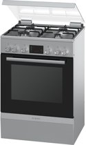 Bosch HGD745250 Vrijstaand Gas hob A Roestvrijstaal fornuis