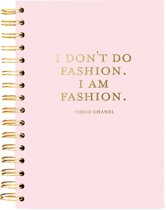 I am Fashion Journal - Hardcover