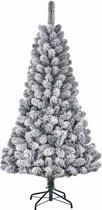 Black Box kunstkerstboom millington maat in cm: 185 x 109 besneeuwd groen
