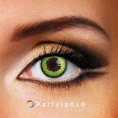 Partylenzen - Green Wolf - jaarlenzen incl. lenzendoosje - kleurlenzen Partylens®