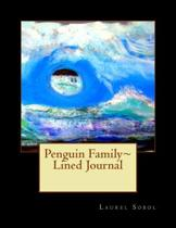 Penguin Family Lined Journal