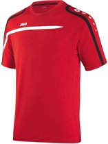 Jako Performance - Sportshirt - Mannen - Maat L - Rood/ Zwart/ Wit