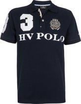 HV Polo Favouritas EQ SS - Heren Poloshirt - Navy - S