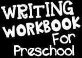 Writing Workbook for Preschool