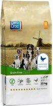 Carocroc Grain Free - Gevogelte/Aardappel/Bieten - Hondenvoer - 15 kg