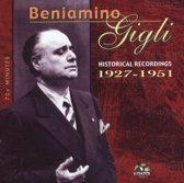 Beniamino Gigli: Historical Recordings 1927-1951
