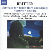 Britten:Orchestral Song Cycles