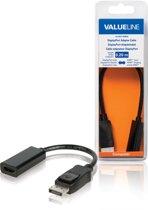 Valueline VLCB37150B02 kabeladapter/verloopstukje DisplayPort HDMI Zwart