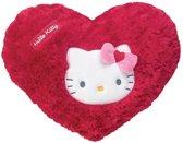 Hello Kitty Kussen Hart Meisjes Rood43 X 34,5 Cm