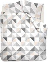 Ambiante Elin - Dekbedovertrek - Lits-jumeaux - 240x200/220 cm - Zand