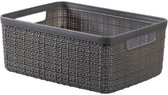 Jute Opbergbox Deep Shadow Small 5l 26,5x20xh10,5cm (set van 3)