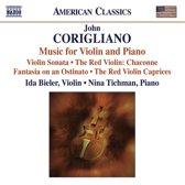 Corigliano: Music F. Violin+Piano