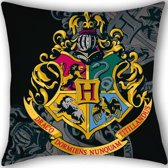 Harry Potter Wapen van Zweinstein - Sierkussen - 40 x 40 cm - Multi