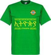 Ethiopië Team T-Shirt - Groen - XL