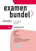 Examenbundel VWO  - Aardrijkskunde 2012/2013