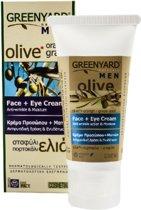 Greenyard gezichtscreme voor mannen
