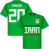 Iran Sardar 20 Team T-Shirt - Groen - S
