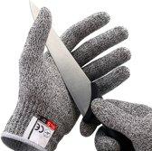 Mancor snijbestendige handschoenen - Geschikt in de Keuken  - Werkhandschoenen heren en dames - Veiligheidshandschoenen - Huis en tuin - Wasbaar + Snijwerende